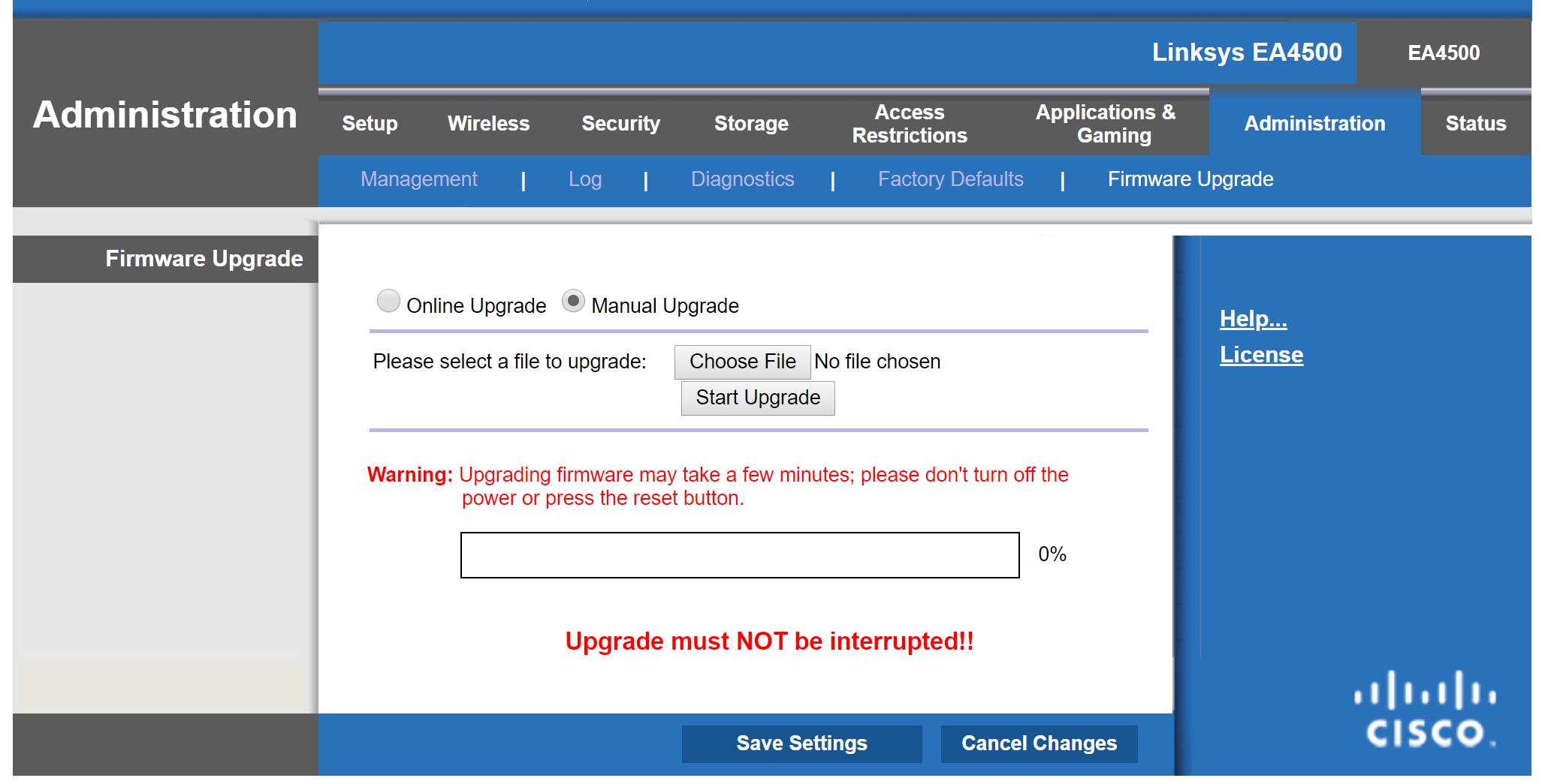 Installing OpenWRT on a Linksys EA4500 - Spotlight Cybersecurity